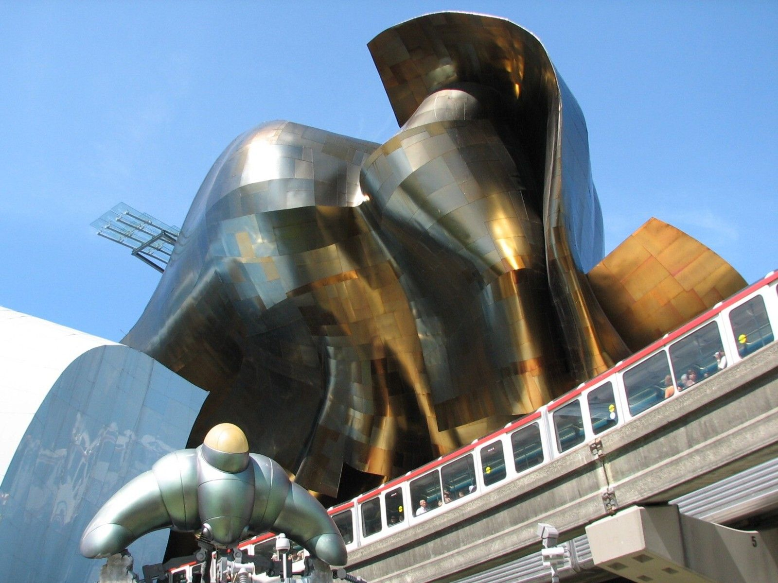 Museum: Experience Music Project And Science Fiction Museum And Hall Of Fame  Location: Seattle, Washington Architect: Frank Gehry Completed: 2000