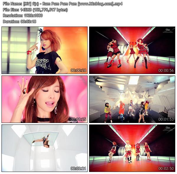 [MV] f(x)   Rum Pum Pum Pum [HD 1080p Youtube]