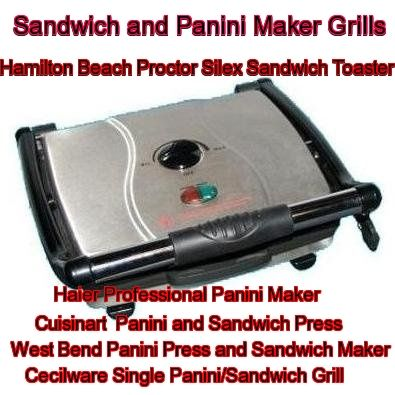 sandwich and panini maker                                     grills