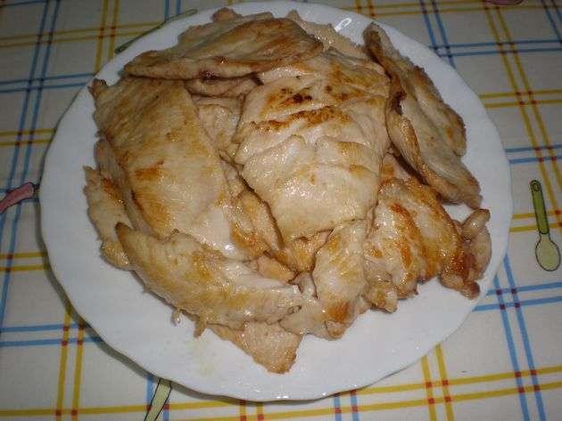 filetesguisados1 - ▷ Filetes de pollo en baño de aceite de maíz  