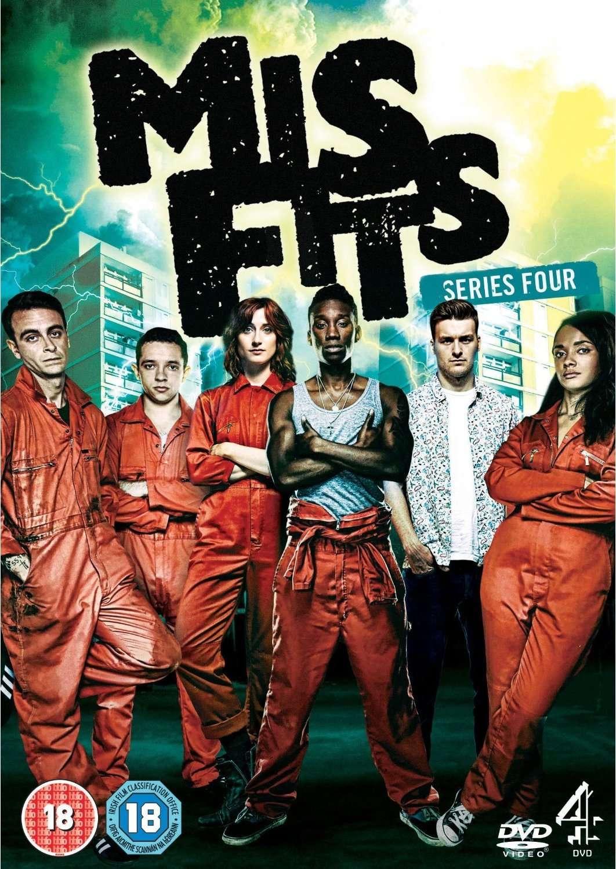 Misfits Season 1-4 DVDRip XviD