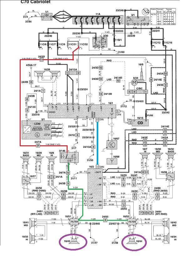 volvo ta ignition wiring diagrams