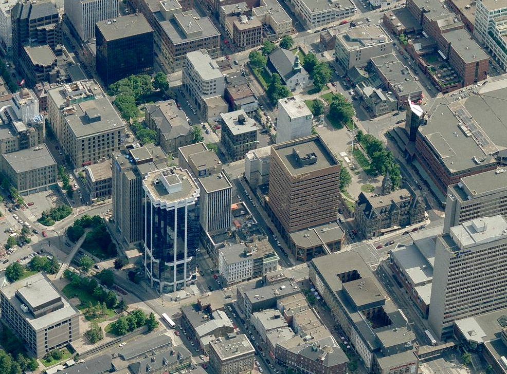Oblique Aerial Imagery For Canadian Cities Archive